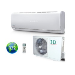 HD  HDWI-MAXIMUS-125C / HDOI-MAXIMUS-125C (beltéri +kültéri egység) Oldalfali split klíma (MAXIMUS) 3,5 kW, Hősziv,Inverteres, R32
